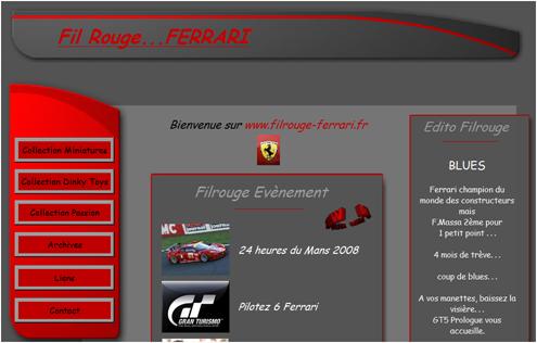 Filrouge Ferrari