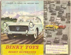 Catalogue Dinky Toys 1961
