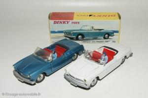 Peugeot 404 cabriolet - Dinky Toys 528