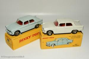 Peugeot 404 berline - Dinky Toys 553