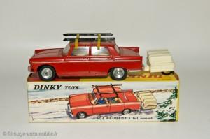 Peugeot 404 berline - Dinky Toys 536