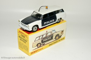 Peugeot 404 police - Dinky Toys 1429