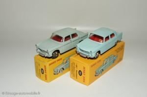 Peugeot 404 berline - Dinky Toys 553 et Dinky Atlas