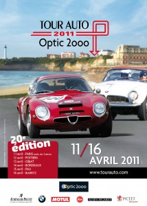 affiche tour auto 2011