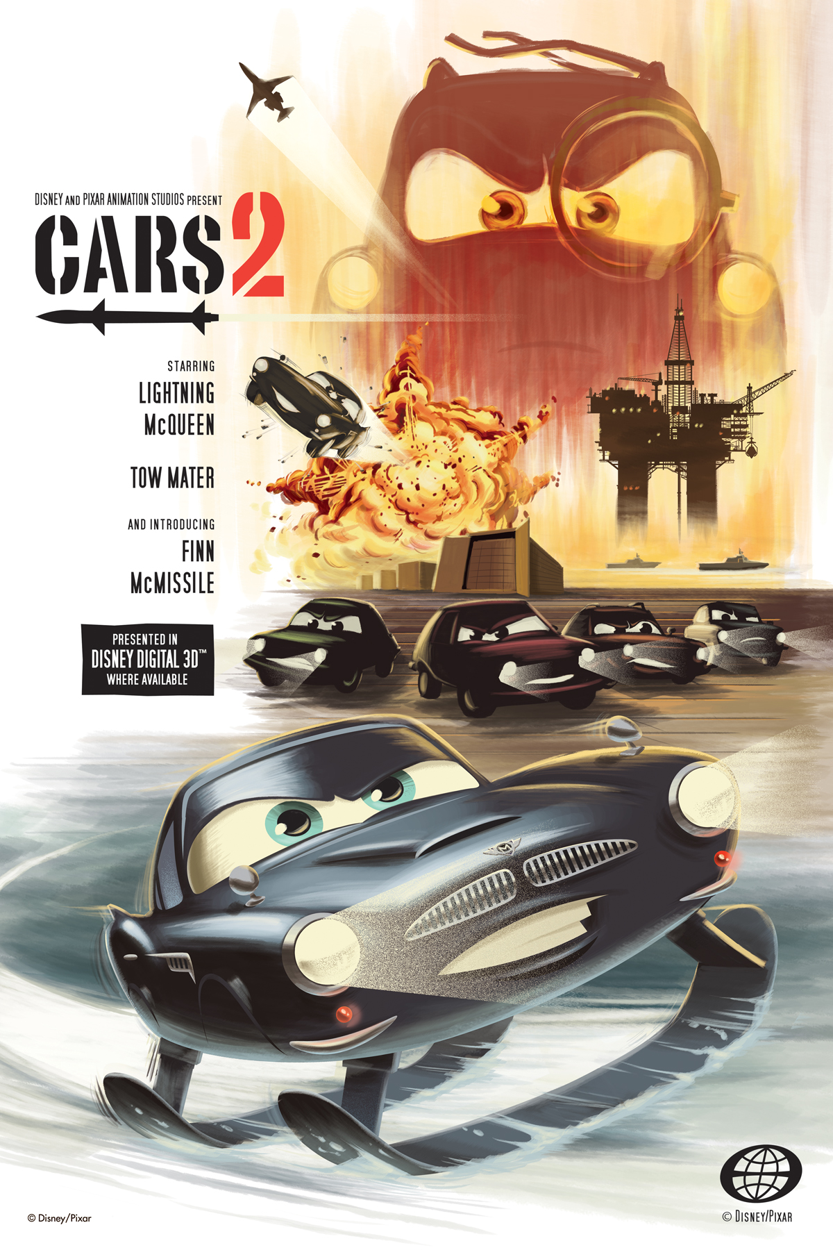 Cars 2 Au Cinema Le 27 Juillet 2011 Filrouge Automobile