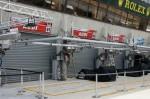 """Le stand Audi """"très discret"""" - 24 heures du Mans 2011"""