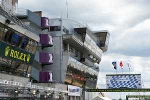 Le podium des 24 heures du Mans 2011