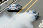 Les 2 Lotus Evora des 24 heures du Mans 2011
