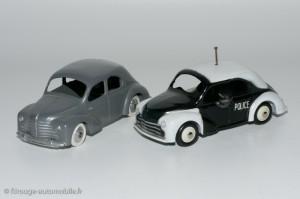 4CV Renault civile et police CIJ