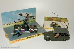 Renault 4 Simpar gendarmerie et Tanguy- Dinky Toys