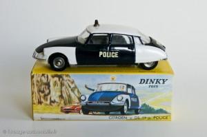 Citroën DS police - Dinky Toys