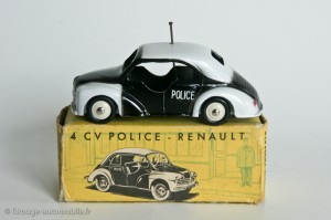 4CV Renault police CIJ