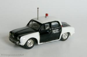 Dauphine Renault police - CIJ