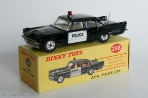 USA police car - Dinky Toys