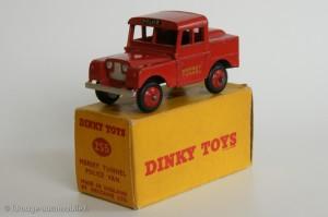 Mersey tunnel police van - Dinky Toys