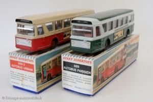 Autobus Berliet lyonnais et parisien - Dinky Toys