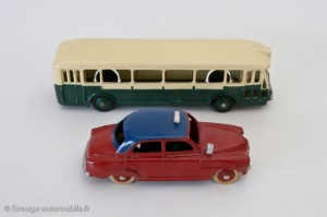 Autobus Somua Panhard et Simca Aronde taxi - Dinky Toys