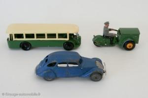 Dinky Toys, différence d'échelle