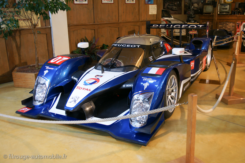 manoir de l automobile de loh ac peugeot 908 1 re 24h du mans 2009 filrouge automobile. Black Bedroom Furniture Sets. Home Design Ideas