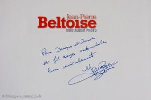 Dédicace de JP. Beltoise