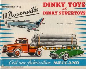 Dinky Toys - Catalogue 1956
