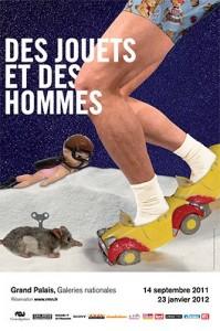 """Affiche """"Des jouets et des hommes"""""""