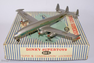 Dinky Toys 60C - Lockheed Super G Constellation