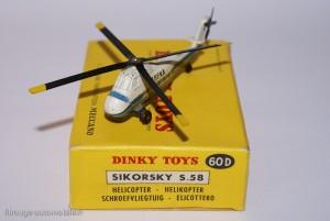 Dinky Toys 60D - Sikorsky S58 Hélicoptère
