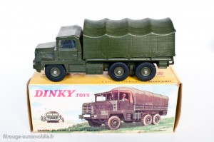 "Dinky Toys 824 - Berliet ""Gazelle"" camion militaire"