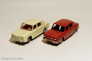 Dinky Toys 103 et 517 - Renault R8 berline