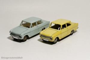 Dinky Toys 106 et 540 - Opel Kadett