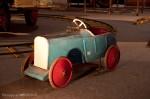 Manège ancien - voiture