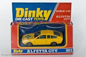 Dinky Toys Solido réf. 1405 - Alfa Roméo GTV
