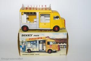 """Dinky Toys - Citroën HY """"Philips"""" rèf. 587"""