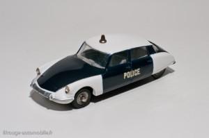 Dinky Toys 501 - Citroën DS19 Police - lettres épaisses