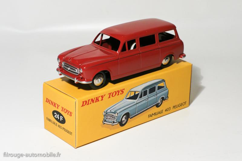 Dinky Toys boîte repro 24F peugeot 403 familiale