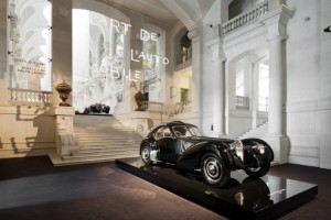 Bugatti Atlantic - Photo musée Arts Décoratifs