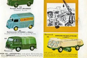 Catalogue Dinky Toys 1960