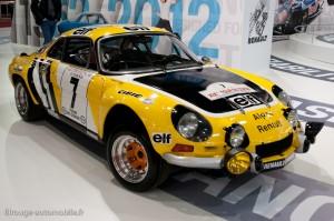 Rétromobile 2012 - les 50 ans de l'Alpine Berlinette
