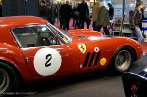 Rétromobile 2012 - les 50 ans de la Ferrari GTO