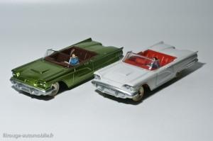 Dinky Toys et Atlas - Ford Thunderbird ref. 555