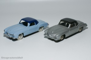 Dinky Toys et Atlas ref.24H - Mercedes 190SL