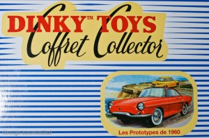 Dinky Toys Atlas - coffret collector Les prototypes 1960