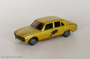 Dinky Toys Solido 1406 - Peugeot 504 berline TI