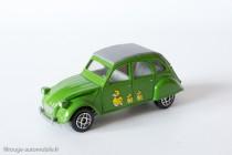 Dinky Toys Solido 1401 - Citroën 2CV - capote fermée
