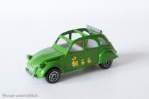 Dinky Toys Solido 1401 - Citroën 2CV - capote ouverte