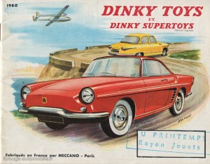 Catalogue Dinky Toys 1960
