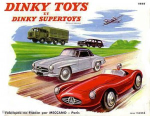 Catalogue Dinky Toys 1958
