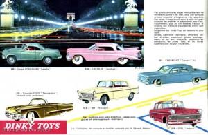 Catalogue général Meccano 1961/1962 - source Ze-43ème