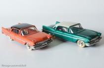 Dinky Toys 545 - De Soto Diplomat Sedan - les deux couleurs